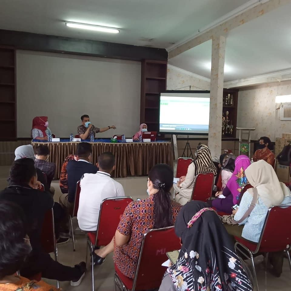 Sosialisasi E-Kinerja ASN Kecamatan Medan Johor Jumat (12-03-2021)