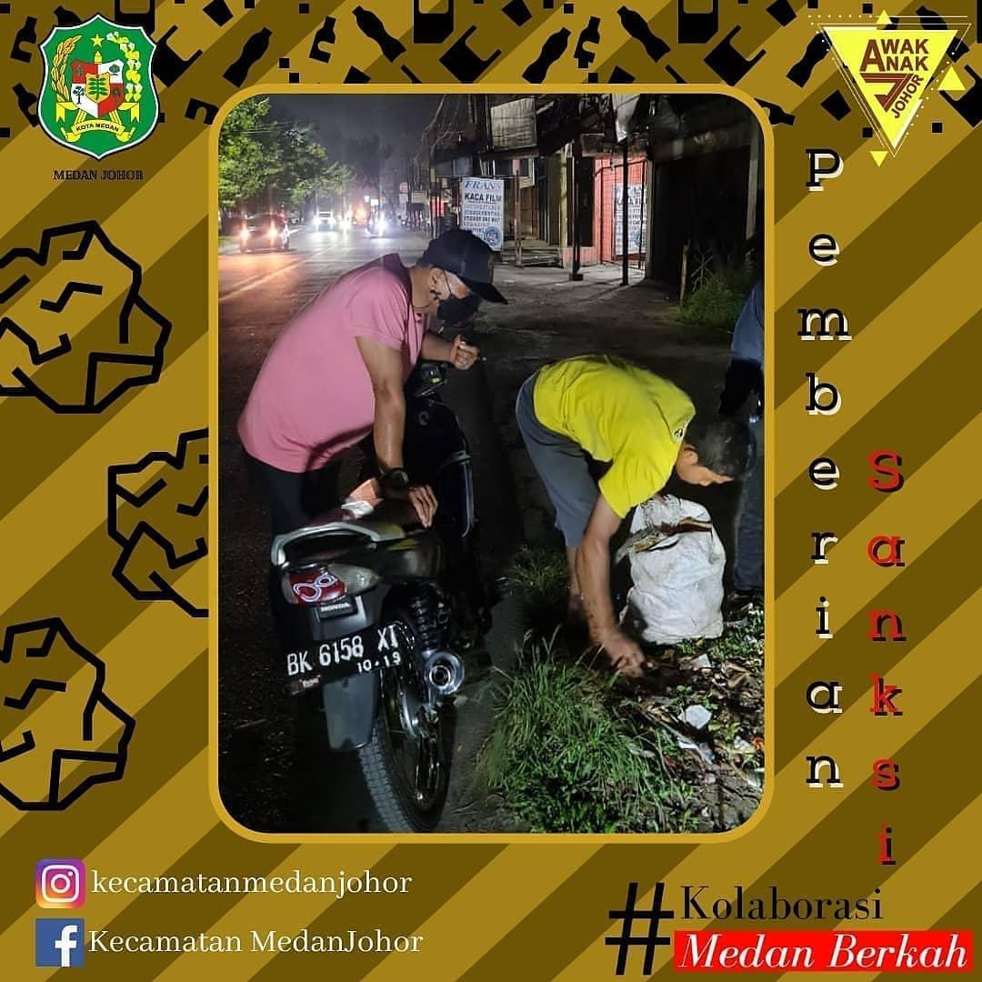 Masyarakat Medan Johor Harus Peduli Sampah