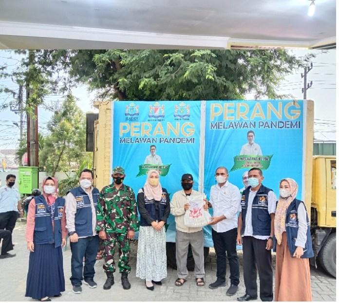 Kecamatan Medan Johor Geber Vaksin Keliling