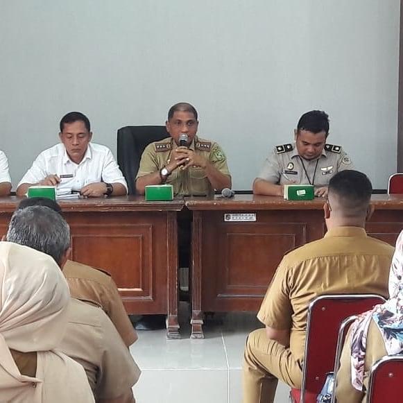 Rapat Koordinasi Bersama Badan Pertanahan Nasional (BPN) tentang pelaksanaan Pendaftaran Tanah Sistemtis Lengkap (PTSL)